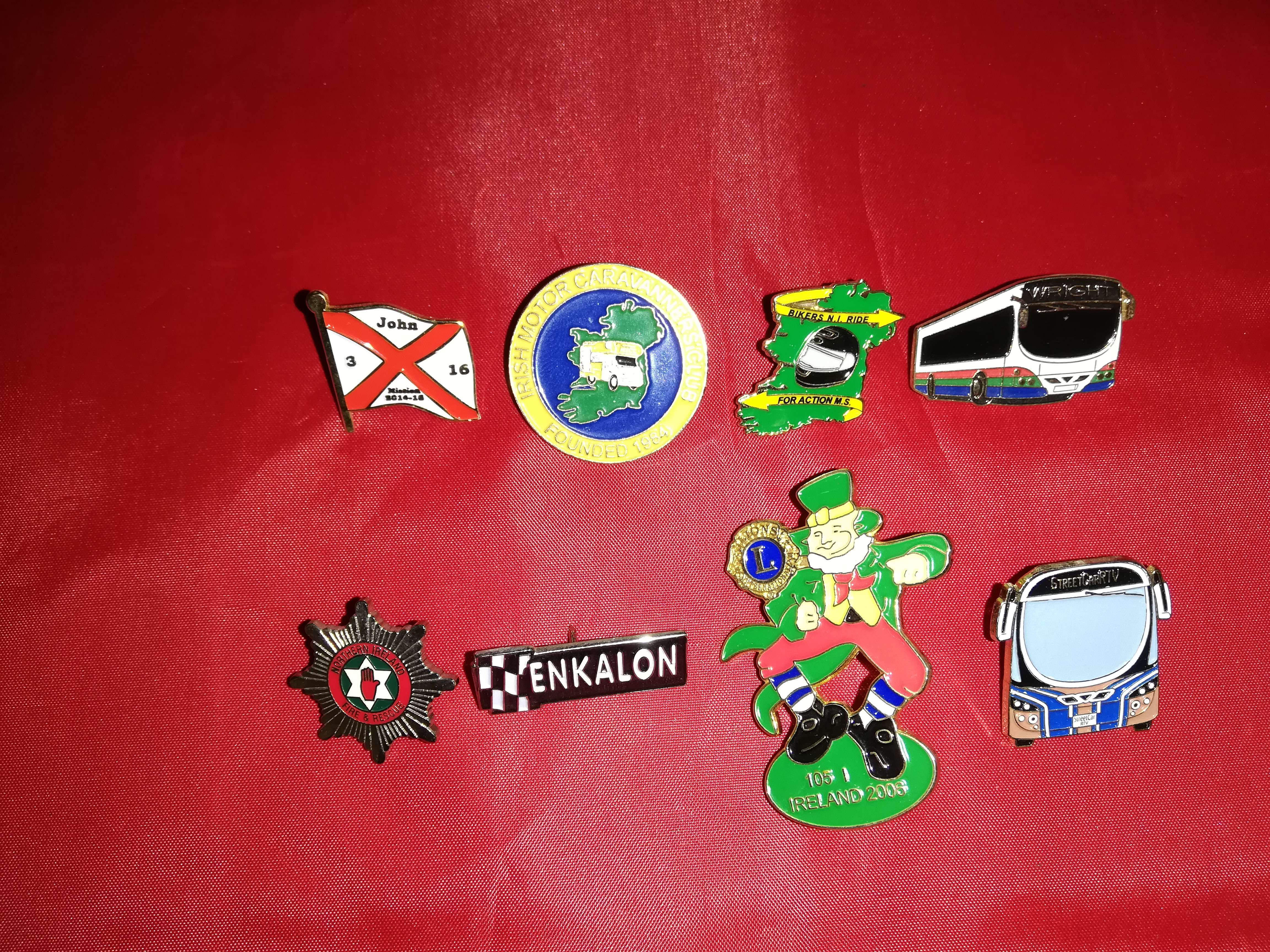 Lapel Badges - Armagh Northern Ireland