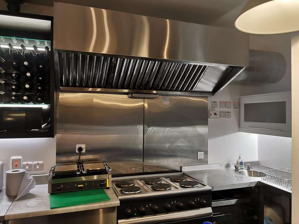 Kitchen Canopy Extractor Hood Supplier County Tyrone Northern Ireland